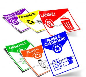 Recycling Signage Mix