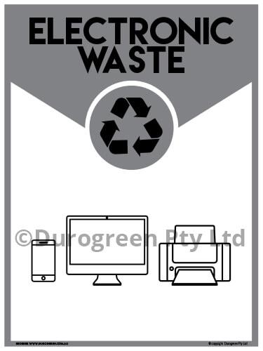 Electronic Waste Signage